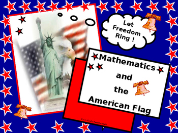 Math Lab:  The US Flag, some flag Trivia, and some fun math