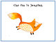 The Fox: A Sentence Building Book