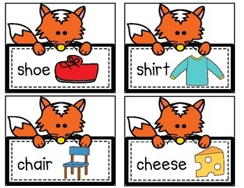 The Fox Says Digraphs! A Read & Write the Room Activity