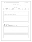 The Fox and The Goat Worksheet
