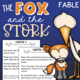 Aesop's Fables Reading Comprehension Activity - The Fox and The Stork