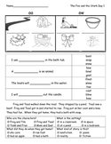 The Fox and The Stork Skill Sheets