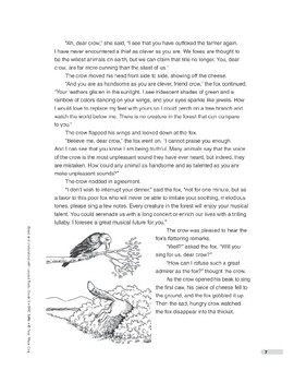 The Fox and the Crow: An Adapted Fable (Lexile 930)