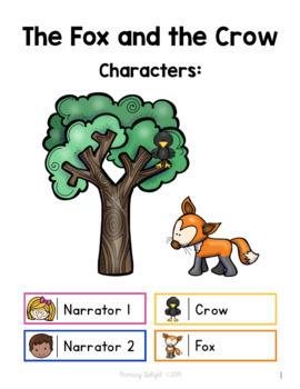 The Fox and the Crow Readers' Theater