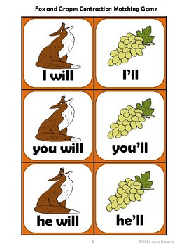 The Fox and the Grapes Contraction Match