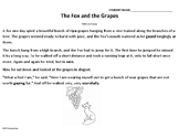The Fox and the Grapes Recounting and Central Message Lesson
