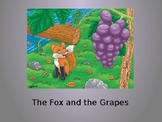The Fox and the Grapes Vocabulary Powerpoint