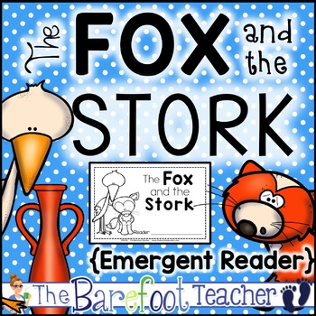 The Fox and the Stork Fable Emergent Reader