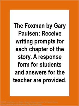 The Foxman by Gary Paulsen Novel Study