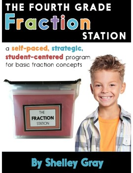 The Fraction Station {Fourth Grade}