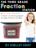 The Fraction Station {Third Grade}