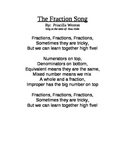 The Fractions Song for third grade