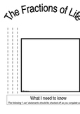 The Fractions of Life-Practice and assessment for fourth grade