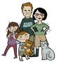 The Fray Family Clip Art