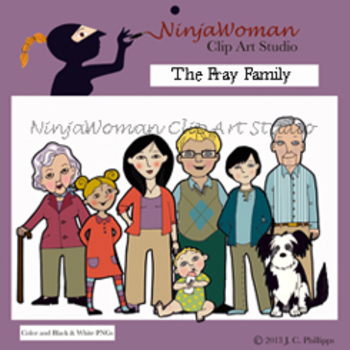 The Fray Family Clip Art