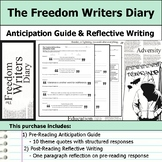 The Freedom Writers Diary - Anticipation Guide & Reflection Writing