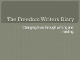 The Freedom Writer's Diary-Free Writing