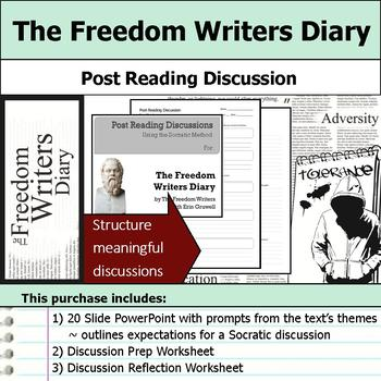 The Freedom Writers Diary - Socratic Method - Post Reading Discussions