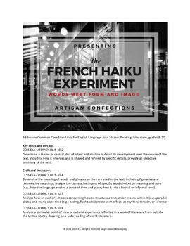 The French Haiku Experiment (Activity)