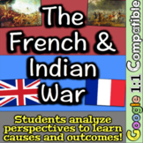 French and Indian War   Person Perspectives, Matrix, Guided Notes, + PPT!