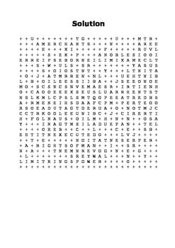 The French Revolution 1789 Word Search