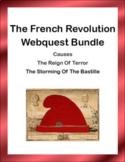 The French  Revolution Webquest Bundle
