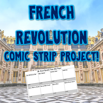The French Revolution Comic Strip Project