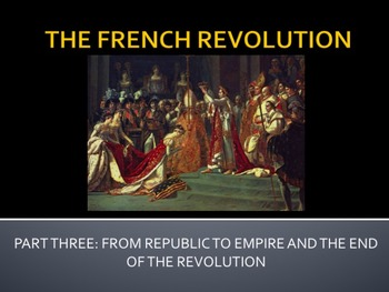 The French Revolution - Complete Teaching Unit - Bundle