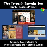 French Revolution: Digital Posters Project - Key Events and Influential People