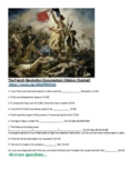 The French Revolution Documentary Questions    Link Provided