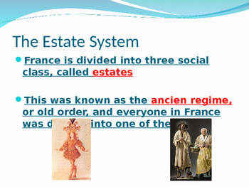 The French Revolution Guided Notes