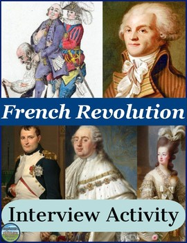 The French Revolution Interview Review Activity