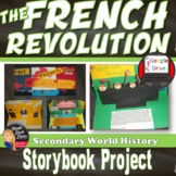 The French Revolution Lecture, Storybook Activity & Review Game (World History)