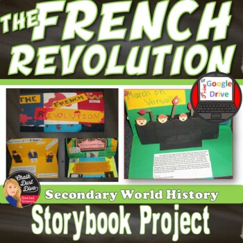 French Revolution Lecture, Storybook Activity & Review Game (World History)