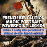 "French Revolution ""Magic Portrait"" Lesson"