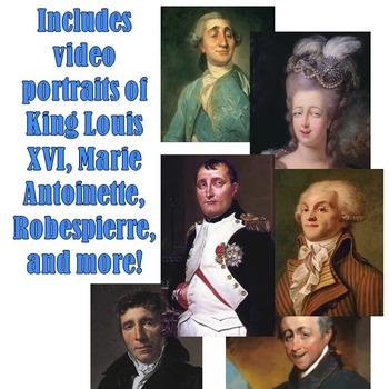 """French Revolution """"Magic Portrait"""" Lesson"""