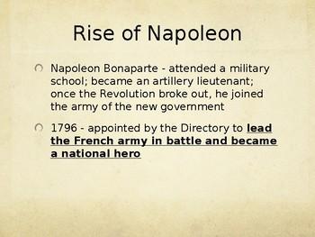 Day 077_The French Revolution - Napoleon Bonaparte - PowerPoint