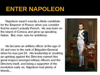 """The French Revolution - Part 3 - """"From Republic to Empire"""" - PowerPoint"""