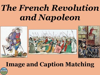 The French Revolution Primary Source Image Activity