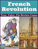 The French Revolution Review Game