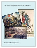The French Revolution: Stories of the Oppressed DBQ