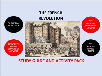 The French Revolution: Study Guide and Activity Pack