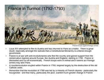 The French Revolution: The Reign of Terror (Presentation)