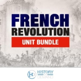 The French Revolution- Unit Bundle