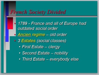 The French Revolution and Age of Napoleon