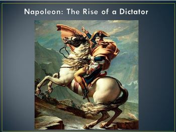 The French Revolution and the Rise of Napoleon PowerPoint Lesson
