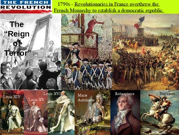 The French Revolution! (highly visual and engaging)