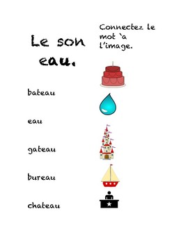 The French Sounds au and eau