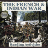 The French and Indian War Reading Activities