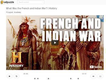 The French and Indian War HyperDoc